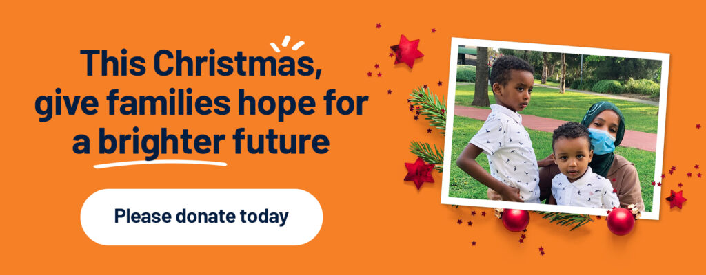 This Christmas, give families hope for a brighter future