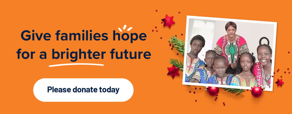 Give families hope for a brighter future